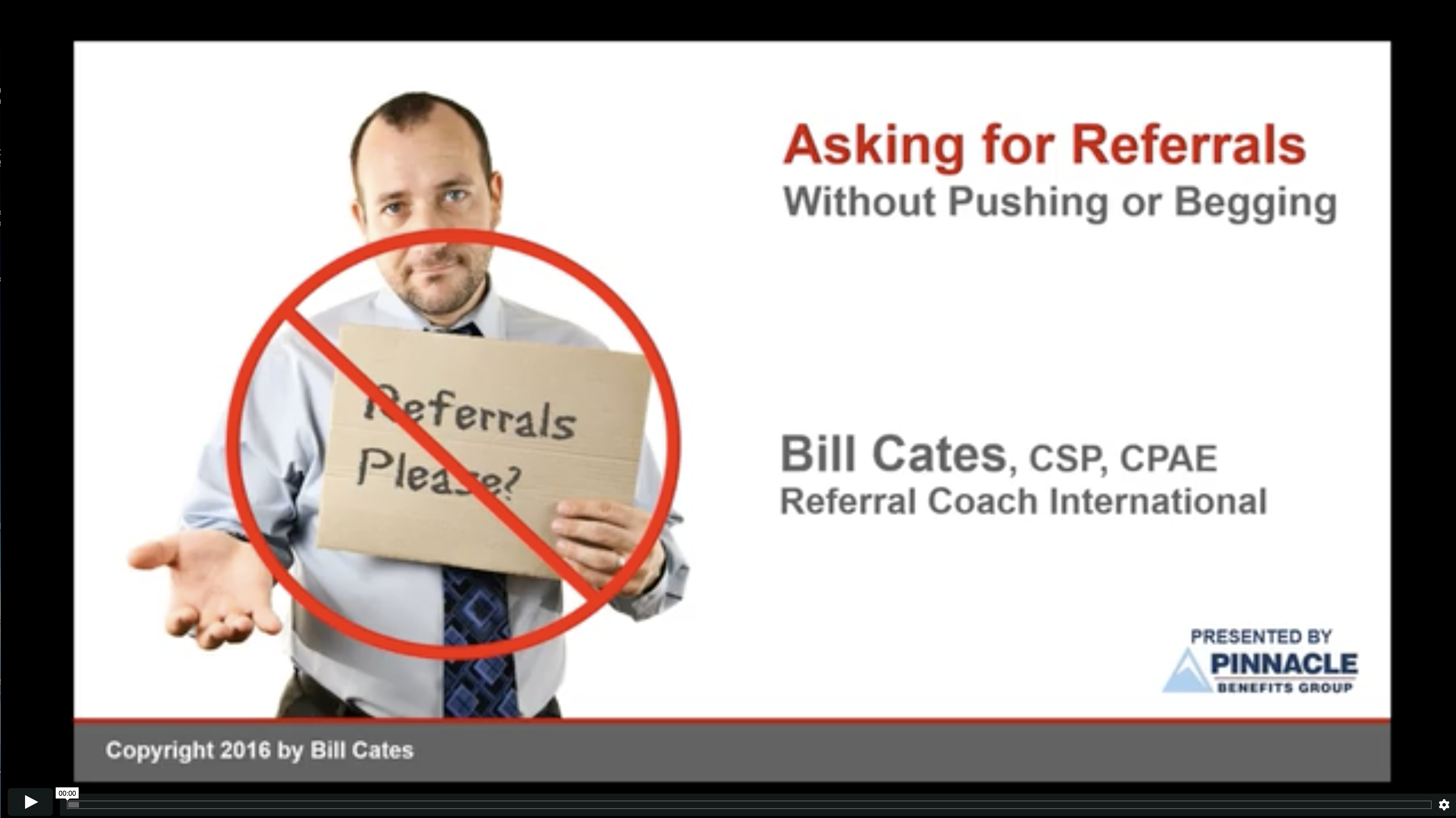 Asking for Referrals without Pushing or Begging